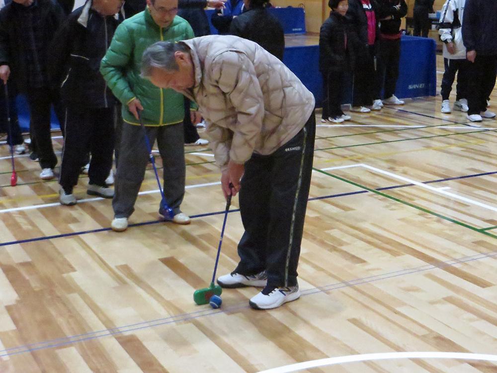 ホールインワンゲーム 平日エンジョイ卓球大会
