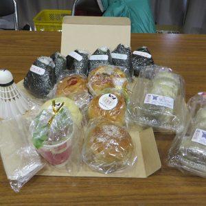 九州バドミントン交流会 今回の参加賞 大津町の特産品