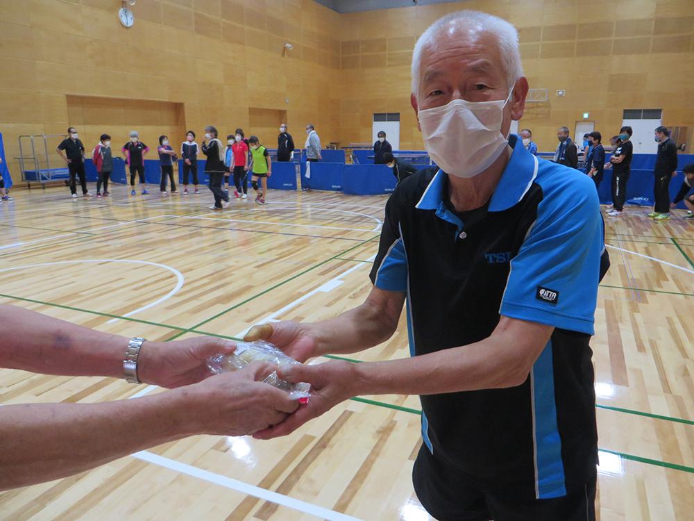 令和2年度第1回 平日エンジョイ卓球大会 ホールインワンゲーム